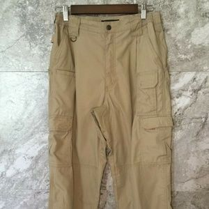5.11 Men's Size 30 Tactical Utility Tan Full Pant